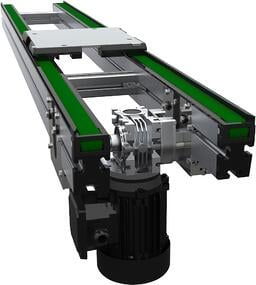 Multi Strand Pallet Transport Conveyor