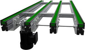 Multi-Strand Transport Conveyor