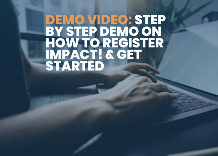DEMO VIDEO- Step by Step Demo on How to Register IMPACT! & Get Started