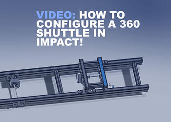 HOW TO CONFIgURE A 360 shuttle in impact!