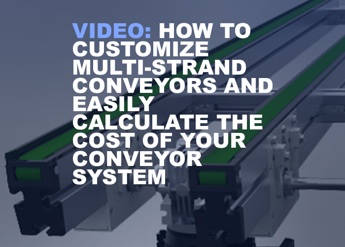 How To Customize Multi-Strand Conveyors And Easily Calculate The Cost Of Your Conveyor System - Resource Image