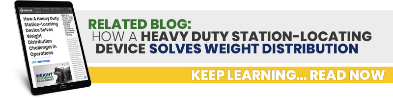 How A Heavy Duty Station-Locating Device Solves Weight Distribution Challenges in Operations