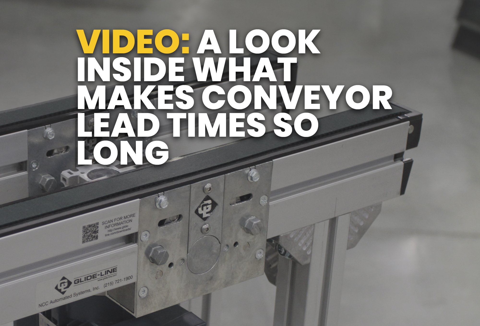 A Look Inside What Makes Conveyor Lead Times So Long - Resource