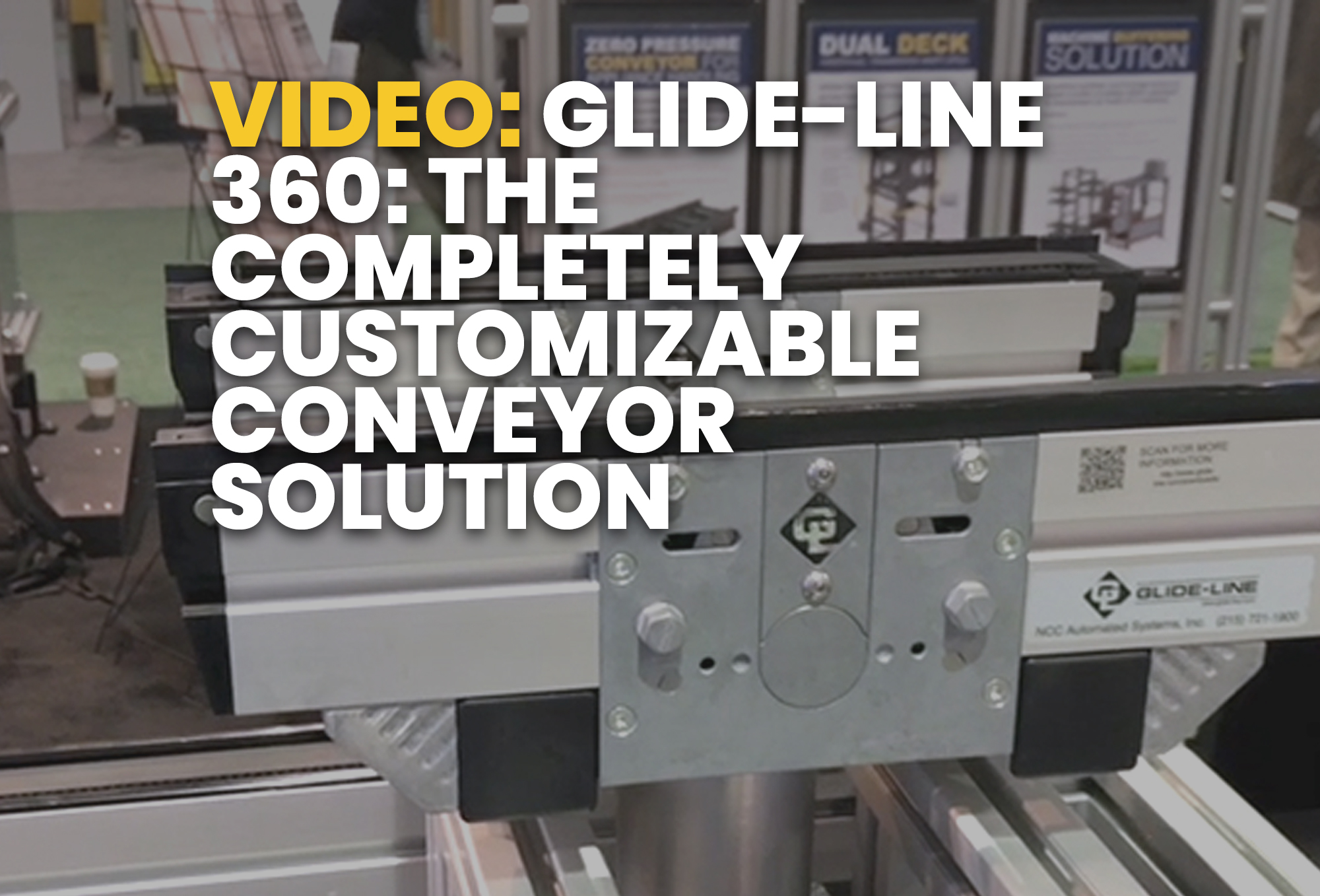 Glide-Line 360- The Completely Customizable Conveyor Solution - Resource