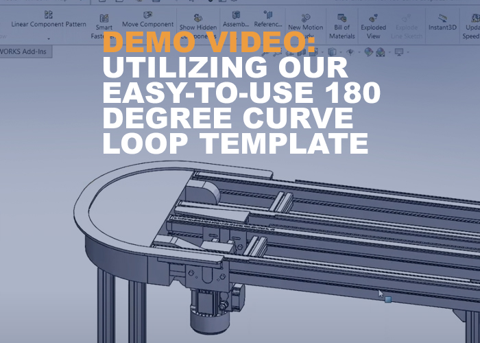 demo video-  Utilizing Our Easy-to-Use 180 Degree Curve Loop Template