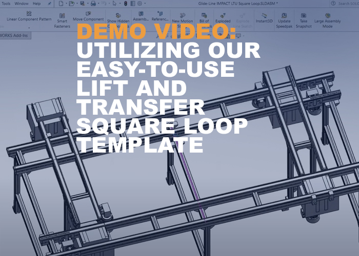 demo video-  Utilizing Our Easy-to-Use Lift and Transfer Square Loop Template