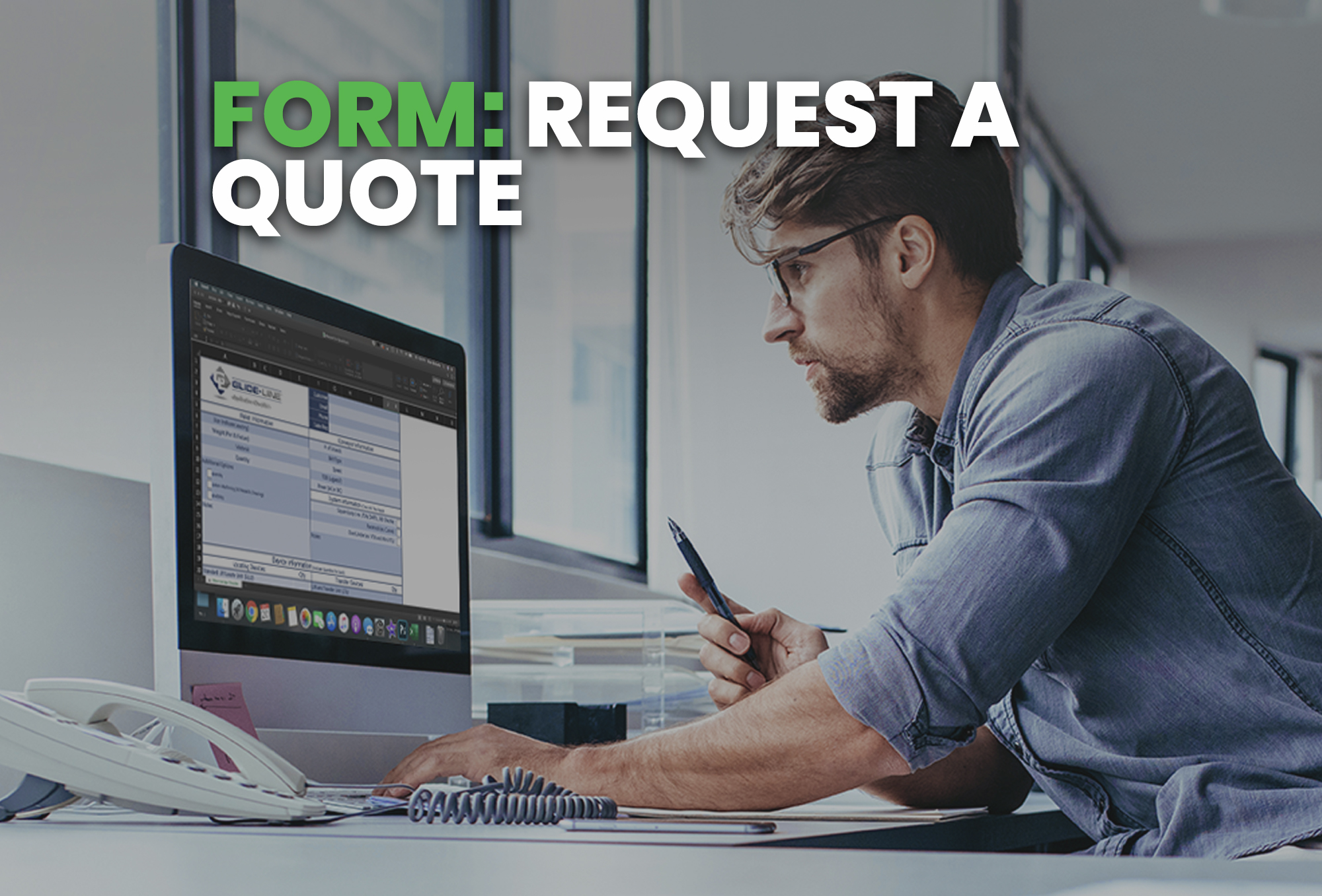 request a quote form - resource