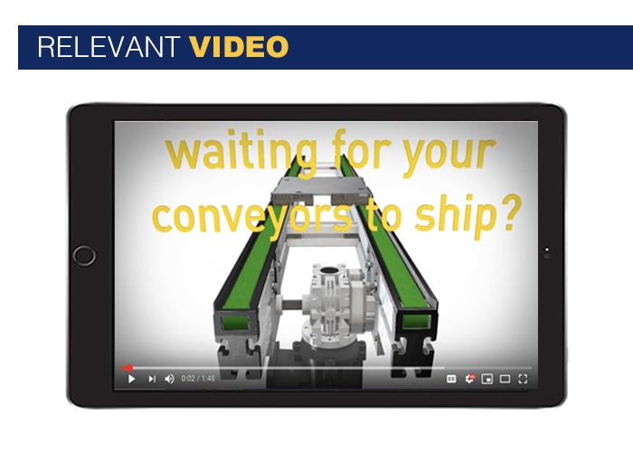 Glide-Line, the ultimate multi-strand conveyor solution - video