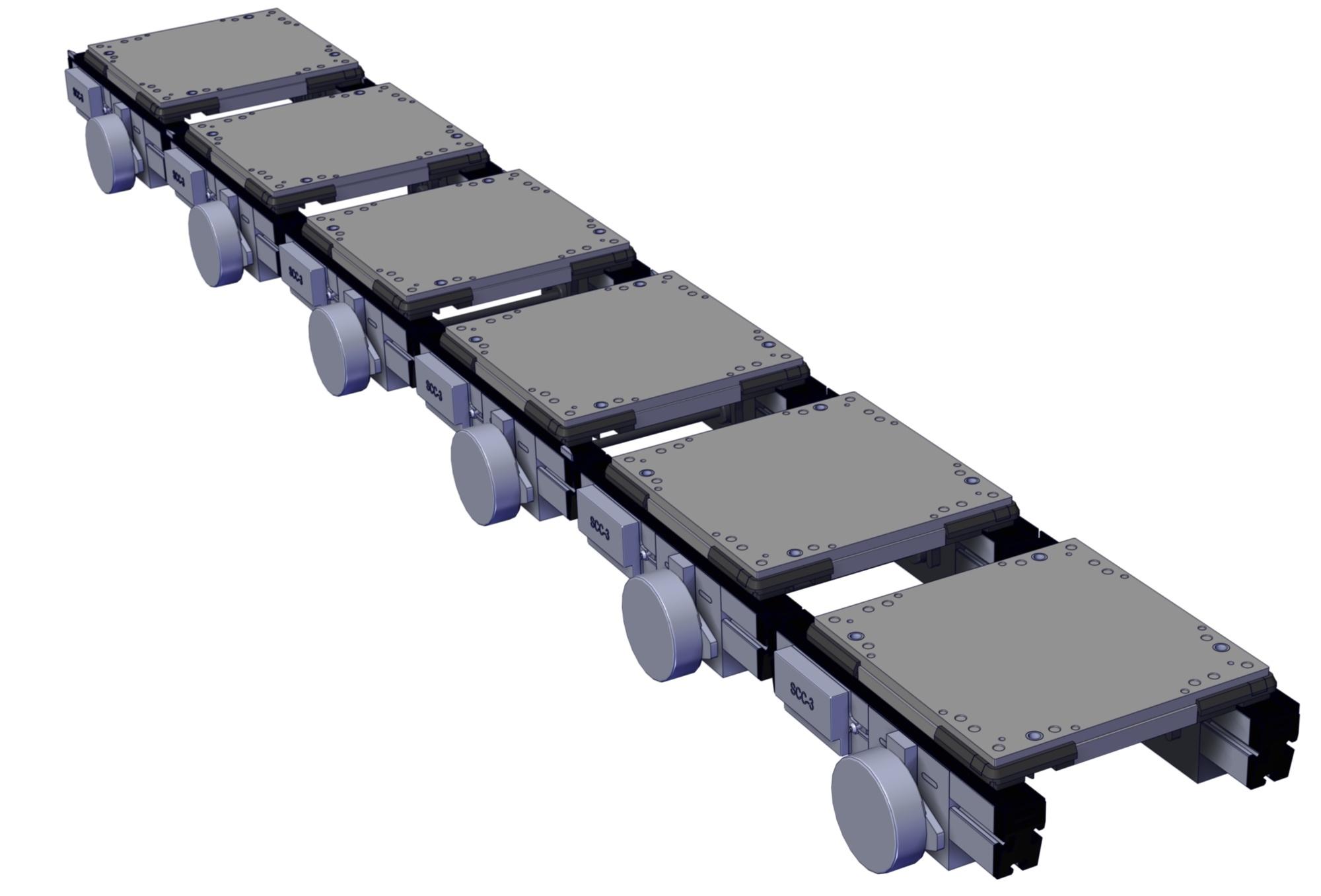 Glide-Line Zero Contact Zoned Conveyor