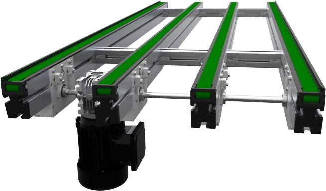 Multi-Strand Transport Conveyor