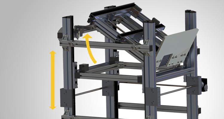 Tilting Deck