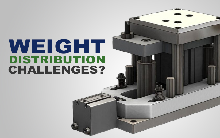 Weight distribution challenges